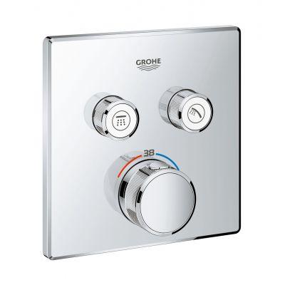 Grohe Grohtherm SmartControl bateria wannowo-prysznicowa podtynkowa termostatyczna chrom 29124000
