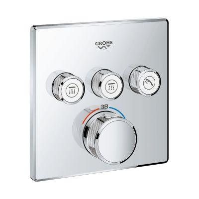 Grohe Grohtherm SmartControl  bateria wannowo-prysznicowa podtynkowa termostatyczna chrom 29126000