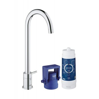 Grohe Blue® Mono Pure zestaw startowy z zaworem sztorcowym chrom 31301001