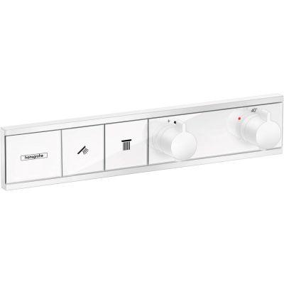 Hansgrohe RainSelect bateria wannowo-prysznicowa podtynkowa termostatyczna biały mat 15380700