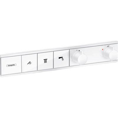 Hansgrohe RainSelect bateria wannowo-prysznicowa podtynkowa termostatyczna biały mat 15381700