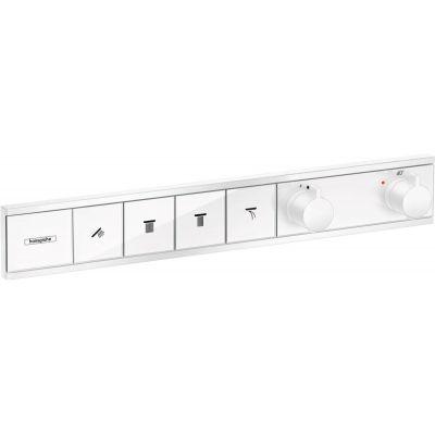 Hansgrohe RainSelect bateria wannowo-prysznicowa podtynkowa termostatyczna biały mat 15382700
