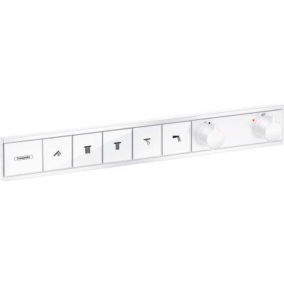 Hansgrohe RainSelect bateria wannowo-prysznicowa podtynkowa termostatyczna biały mat 15384700