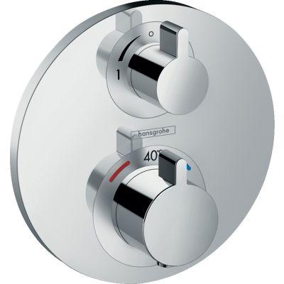 Hansgrohe Ecostat E bateria prysznicowa podtynkowa termostatyczna chrom 15757000