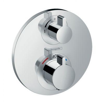 Hansgrohe Ecostat S bateria wannowo-prysznicowa podtynkowa termostatyczna chrom 15758000