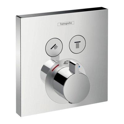 Hansgrohe ShowerSelect bateria prysznicowa termostatyczna podtynkowa chrom 15763000