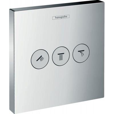 Hansgrohe ShowerSelect zawór odcinający podtynkowy chrom 15764000