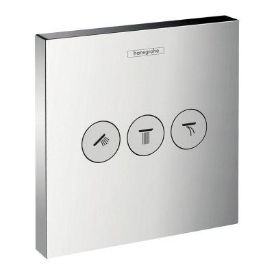 Hansgrohe ShowerSelect zawór odcinający podtynkowy dla 3 odbiorników 15764000