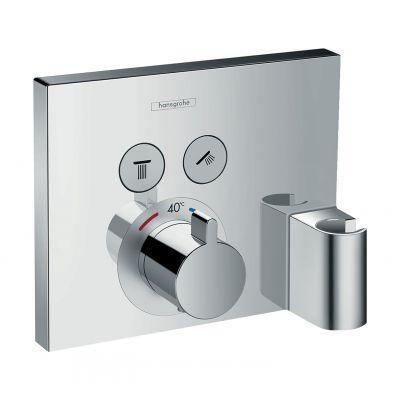 Hansgrohe ShowerSelect bateria wannowo-prysznicowa podtynkowa termostatyczna chrom 15765000