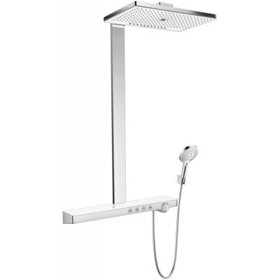 Hansgrohe Rainmaker Select komplet prysznicowy biały/chrom 27029400