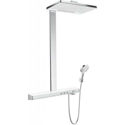 Hansgrohe Rainmaker Select komplet prysznicowy biały/chrom 27109400