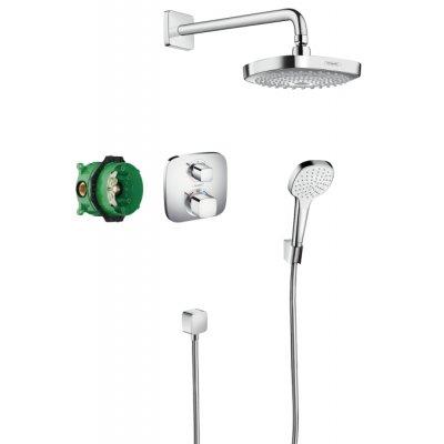 Hansgrohe Croma Select E zestaw prysznicowy podtynkowy 27294000