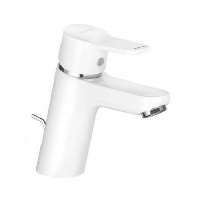 Kludi Pure&Easy bateria umywalkowa stojąca biały/chrom 373829165