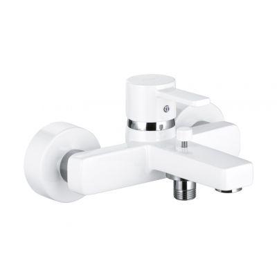 Kludi Zenta bateria wannowo-prysznicowa ścienna biały/chrom 386709175