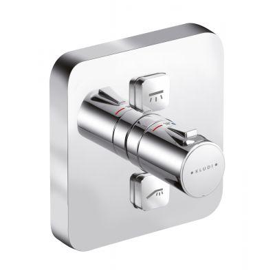 Kludi Push bateria wannowo-prysznicowa podtynkowa termostatyczna 388110538