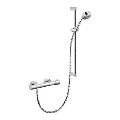 Kludi Zenta Shower-Duo bateria prysznicowa termostatyczna kompletna chrom 6057605-00