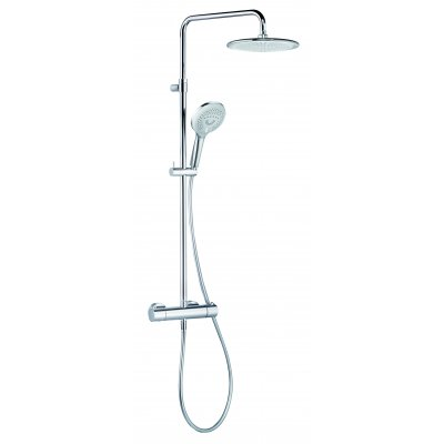 Kludi Freshline Dual Shower System zestaw prysznicowy z termostatem 6709205-00