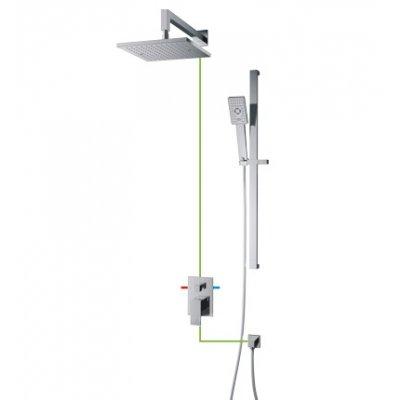Omnires Fresh zestaw prysznicowy podtynkowy SYSFR11