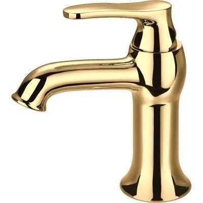 Omnires Art Deco bateria umywalkowa złota AD5111ZŁ
