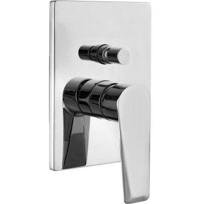 Omnires Astoria bateria wannowo-prysznicowa podtynkowa chrom AS5635CR