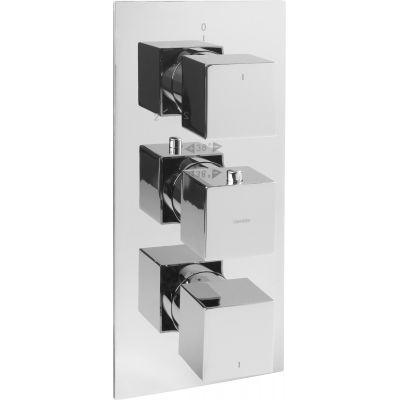 Omnires Fresh bateria wannowo-prysznicowa podtynkowa termostatyczna chrom FR7138/6