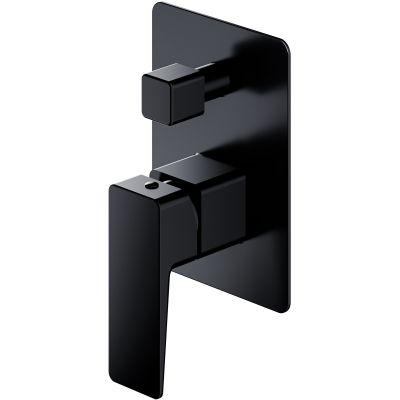 Omnires Parma bateria wannowo-prysznicowa podtynkowa czarny mat PM7435BL