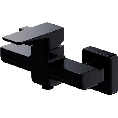 Omnires Parma bateria prysznicowa ścienna czarny mat PM7440BL