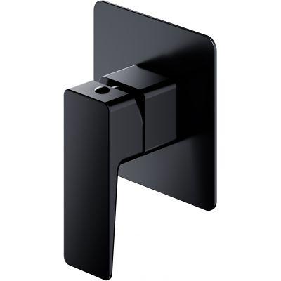 Omnires Parma bateria prysznicowa podtynkowa czarny mat PM7445BL