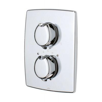 Oras Optima bateria wannowo-prysznicowa podtynkowa termostatyczna chrom 7188
