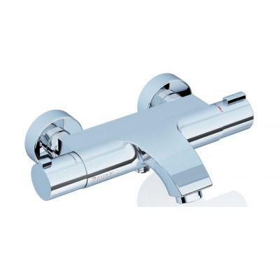 Ravak Termo TE 082.00 bateria wannowo-prysznicowa ścienna termostatyczna chrom X070046