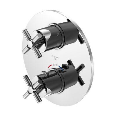 Steinberg 250 bateria prysznicowa podtynkowa termostatyczna chrom 2504123