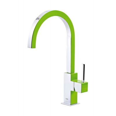 Tres Cuadro Exclusive bateria kuchenna zielona/chrom 1.30.497.VE