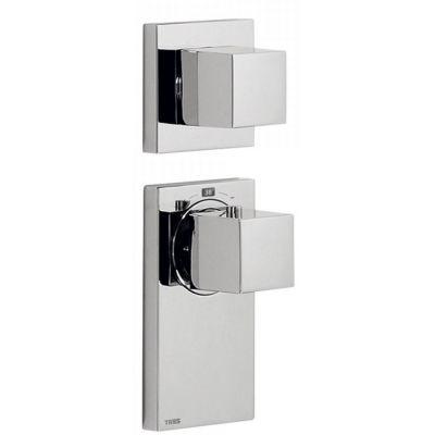 Tres Block System bateria wannowo-prysznicowa podtynkowa termostatyczna chrom 206.252.99