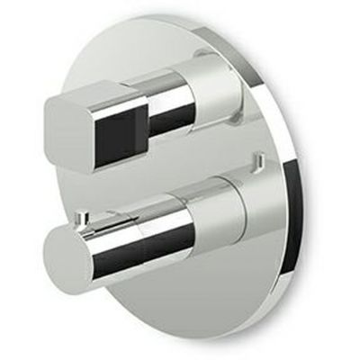 Zucchetti bateria prysznicowa podtynkowa termostatyczna chrom ZIN800