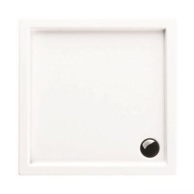 Actima Base brodzik kwadratowy 80x80 cm biały BRAC.1102.800.LP