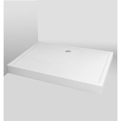 Bravat Rectangle brodzik prostokątny 120x80 cm biały BVTRC80X120/14