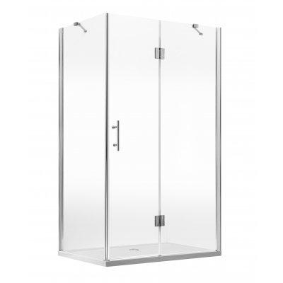 Deante Abelia kabina prysznicowa prostokątna 80x120 cm z szerokim wejściem KTA044P
