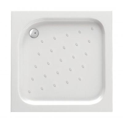 Deante Corner brodzik kwadratowy 80 cm biały KTC042B