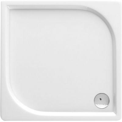 Deante Cubic brodzik kwadratowy 90 cm biały KTK041B