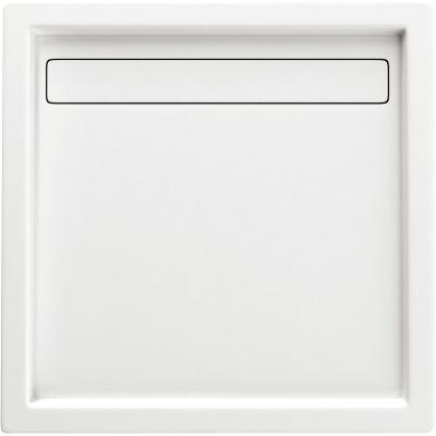 Deante Minimal brodzik kwadratowy 90 cm biały KTM041B