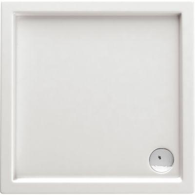 Deante Minimal brodzik kwadratowy 100 cm biały KTN040B