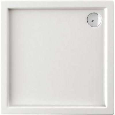 Deante Minimal brodzik kwadratowy 90 cm biały KTN041B