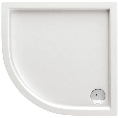 Deante Minimal brodzik półokrągły 100 cm biały KTN051B
