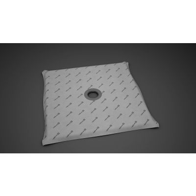 Radaway płyta prysznicowa 79x79 cm z kratką odpływową 5CK0808, 5K01, 5SK1