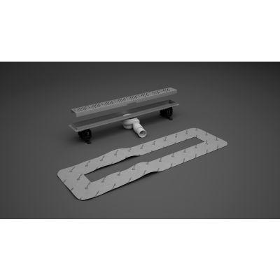 Radaway Basic odpływ liniowy 115 cm 5L115A, 5R115B