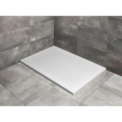 Radaway Teos F brodzik prostokątny 120×70 cm konglomerat biały HTF12070-04