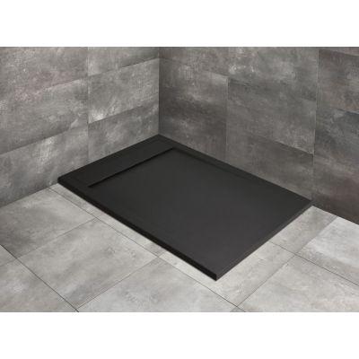 Radaway Teos F Black brodzik prostokątny 100x90 cm czarny HTF10090-54