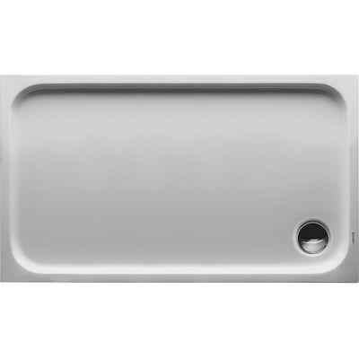 Duravit D-Code brodzik prostokątny 120x70 cm Antislip biały 720094000000001