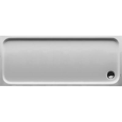 Duravit D-Code brodzik prostokątny 170x70 cm Antislip biały 720096000000001