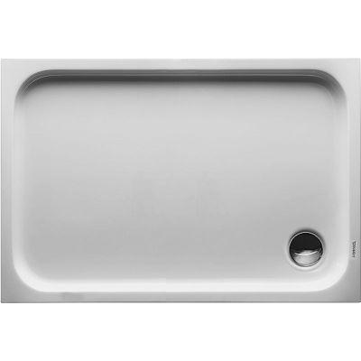 Duravit D-Code brodzik prostokątny 110x75 cm Antislip biały 720097000000001